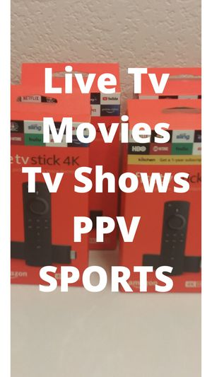 Amazon Fire Tv Stick for Sale in Duncanville, TX