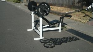 Tuffstuff bench-weights-barbell for Sale in Stockton, CA