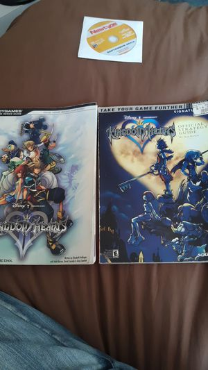 Kingdom hearts & KH2 Strategy guides for Sale in Bellflower, CA