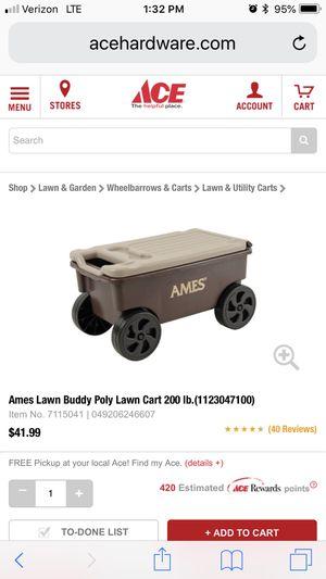 Lawn buddy roller cart. Garden yard for Sale in Kissimmee, FL