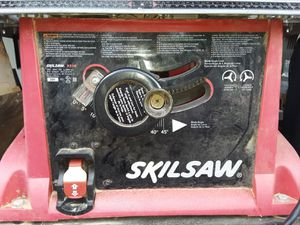 Skil table saw fixed stand 3310-02 for Sale in Hartsville, TN