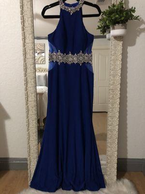ROYAL BLUE Prom Dress for Sale in La Vernia, TX