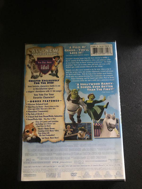 Shrek 2 Widescreen DVD