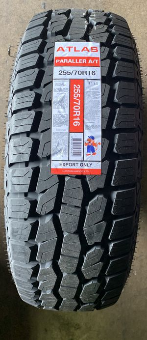 All terrain , Mud terrain , highway , Passenger, Trailer tire any kind of tire get on whole price. for Sale in Bellaire, TX