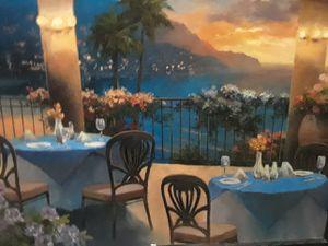 Balcony scene painting for Sale in Ocoee, FL