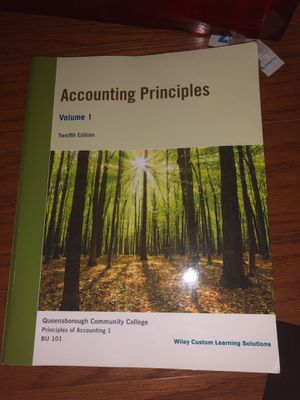 Accounting textbook for Sale in Brooklyn, NY