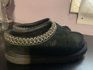 Black UGG slippers for Sale for sale  Plainfield, NJ