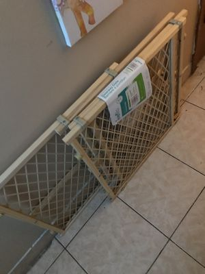 2 BRAND NEW DOG/BABY GATES NEED GONE TODAY for Sale in New Britain, CT