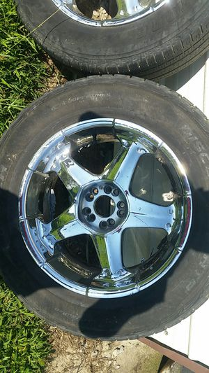 "20"" Rims with Tires for Sale in Kenbridge, VA"