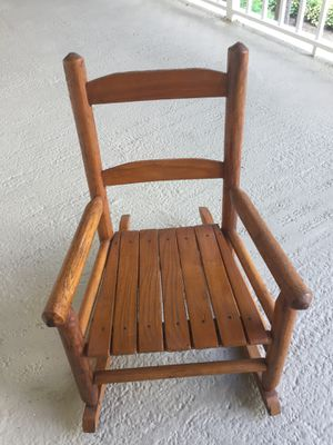 Antique child rocking chair for Sale in Pompano Beach, FL