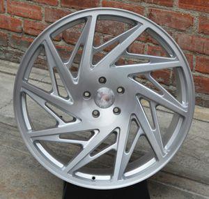 """New 24"""" R25 5x120 / 5x130 Silver Wheels for Sale in Miami, FL"""
