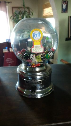 Antique ford one cent gumball machine for Sale in Fremont, CA