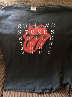 Rolling Stones concert t-shirt 2003 for Sale in Roseville, CA