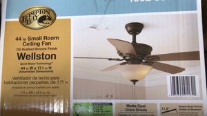 """Wellston 44"""" Small Room fan for Sale in Canoga Park, CA"""