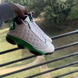 Air Jordan 13s White Lucky Green for Sale in Grapevine, TX
