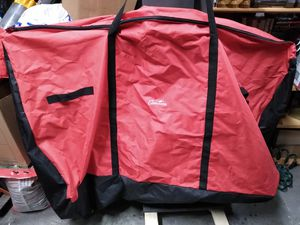 Giant 35x53 carrying bag with wheels 22 wide for Sale in Addison, IL