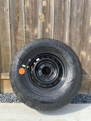 Spare rim and tire 265/70r16 for Sale in San Diego, CA