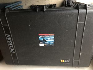 Pelican WaterTight Protector Case 1650 for Sale in Houston, TX