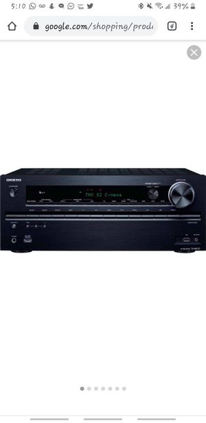 Onkyo TX NR727 7.2 Channel AV Network Receiver - Black for Sale in Laurel, MD
