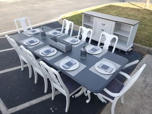 Dining table and 8 chairs for Sale in Lorton, VA