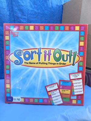 University Games Sort it Out Board Game New for Sale in Azusa, CA