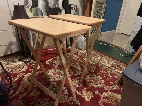 Mini portable table holders and tables