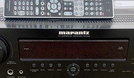 Marantz NR1402 AV Surround Receiver & Bose 161 Speakers for Sale in Encinitas,  CA