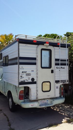 1998 Tacoma with a truck camper on top for Sale in San Diego, CA