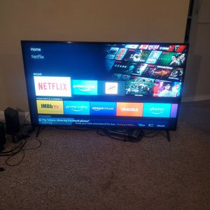 55 inch LG 4K UHD TV With LG ThinQ AI Google Assistant for Sale in Portsmouth, VA