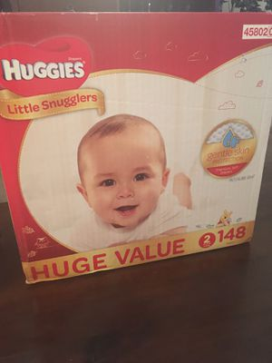 Huggies Little Snugglers size 2 148 Count for Sale in Phoenix, AZ
