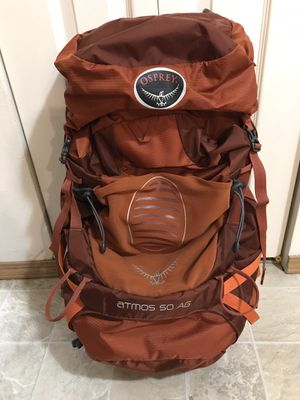 Osprey 50l hiking/backpacking pack for Sale in Monroe, WA
