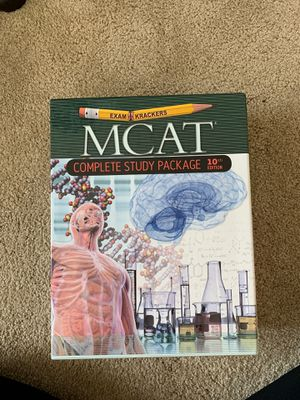Exam Krackers MCAT Complete Study Package 10th Edition for Sale in Columbia, MO