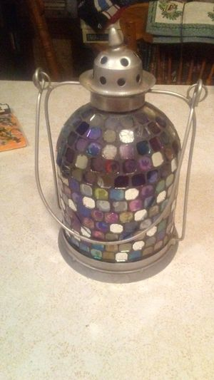 Stain Glass Lantern for Sale in Oroville, CA