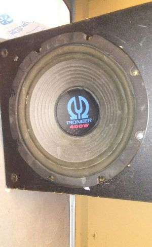 400w Pioneer speaker for sale box included if you want for Sale in Charlotte, NC