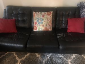 Leather sofa set for Sale in San Pablo, CA