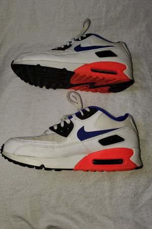 Nike air max 90 Essential Ultramarine white red infrared size 10.5 for Sale in Columbus, OH