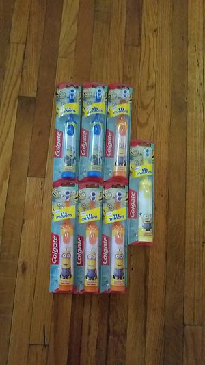 Colgate kids powered toothbrushes $3 each for Sale in Riverside, CA