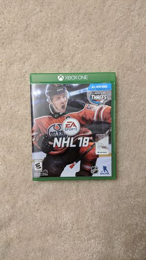 NHL 18 Xbox One for Sale in Round Rock, TX