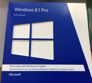 Windows 8.1 Professional 32/64bit installation disc with product key for Sale in San Jose, CA