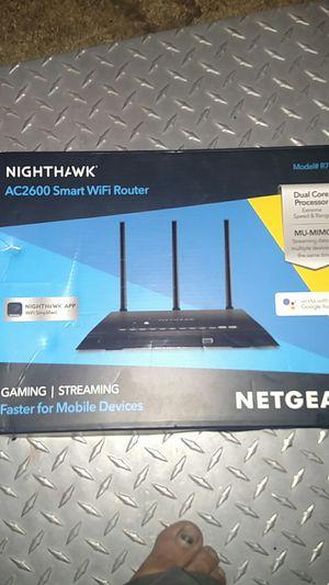 Netgear nighthawk ac2600 smart WIFI router - model#R7450 for Sale in Florence, SC