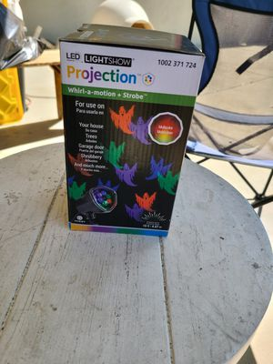 "HALLOWEEN LIGHTS. ""NEW PROJECTION LIGHTS "" for Sale in Upland, CA"