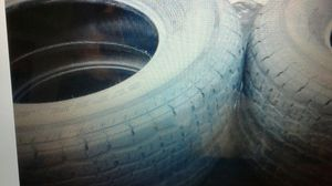 Set of 4 size 16 load range E trailer tires for Sale in Palm Harbor, FL