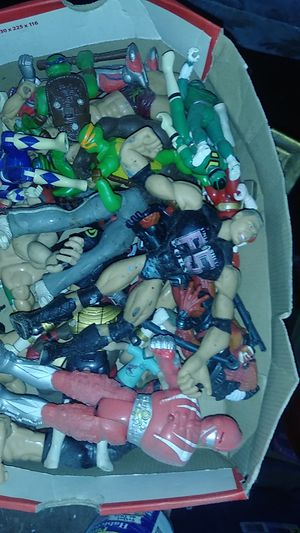 Box Of wresters for Sale in Philadelphia, PA