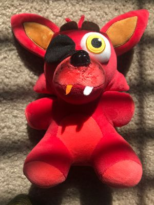FNAF foxy plushie for Sale in Las Vegas, NV
