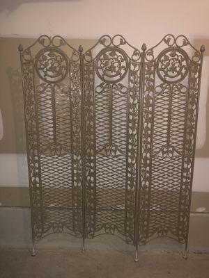 Ornate Castcast-iron Room Divider - Medical Center for Sale in San Antonio, TX