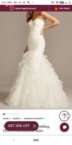 Wedding dress for Sale in Morrow, GA