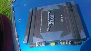 Pyle 1400 watt 2 channel amplifier for Sale in St. Louis, MO