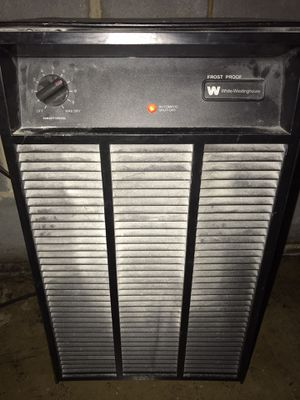 White Westinghouse dehumidifier for Sale in Knightdale, NC