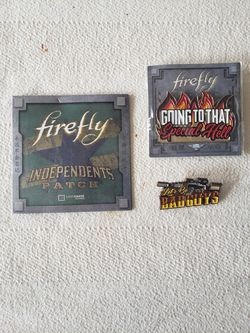 Firefly lapel pins/ patch for Sale in Houston,  TX