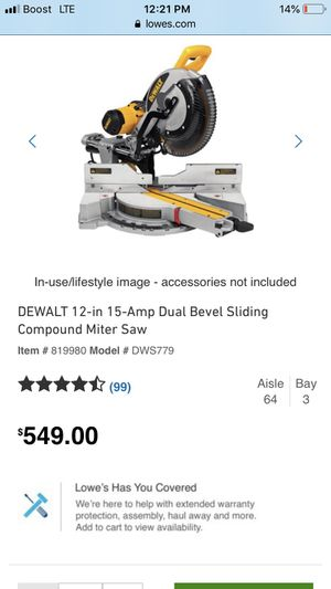 Chop saw for sale now $$$ for Sale in Houston, TX